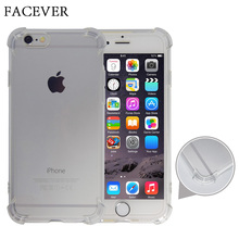 Hot Air Cushion Shock Proof Transparent Soft TPU Silicone Clear Protective Phone Bag Case For iPhone 5 5S SE 6 6S 7 Plus