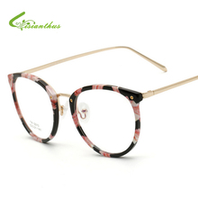 NEW Glasses Frames Woman/Man Eyeglasses Frame for Myopia 2017 Vew Plica Eye Glasses Plain Mirror Glass Vintage Black Spectacles