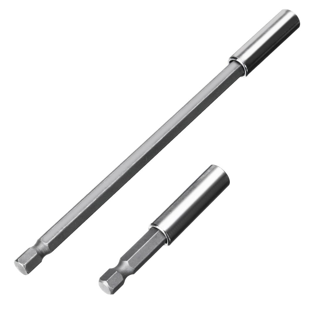 1/4\'\' Hex Shank Magnetic Screwdriver Bit Holder Screwdriver Extension Bit 60/75/100/150mm Socket Extension Bar