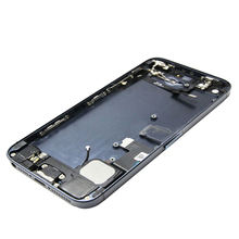 For iPhone 5 5G Back Cover Full Housing Assembly Small Parts With Flex and Button Free Shipping