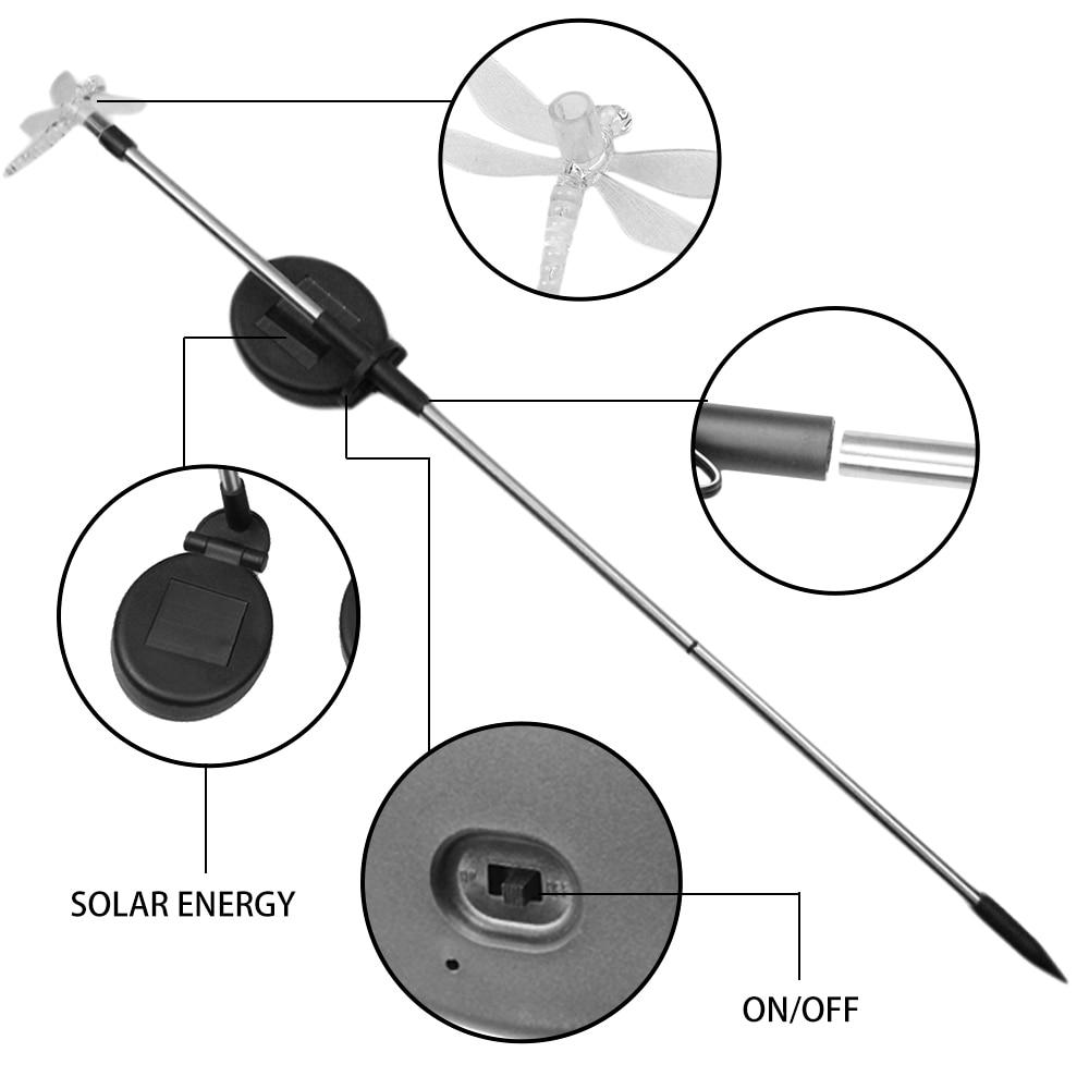 Solar powered led lawn light (9)