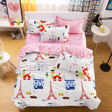 Bedding Sets Duvet Cover London Bedding Bed Sheet paris Children Bedroom Bedsheet Anime Home Textile Child Sheets
