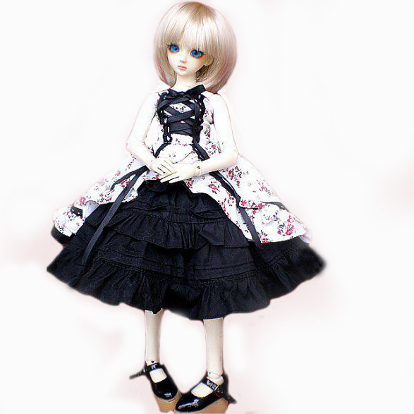 [wamami] 147# Flower Clothes/Dress/Outfit 1/4 MSD AOD DOD DZ BJD Dollfie<br>