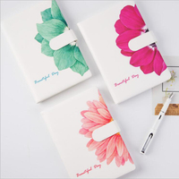 Creative Chinese Flower A5 Common Notebook Office School Travelling Agenda Daily Schedule Note Planners Best Rewarding Gift