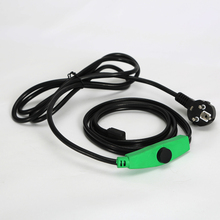 230V 384W Electric Smart Heated Cable For Small Container 24M Ice Melting Heating Cable With EU Plug 2016 Factory Direct Sales(China)