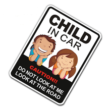 Car-Styling Twins Baby In Car Emblem Badge 3M Vinyl Reflective Safety Warning Sticker Decals