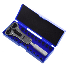 WSFS Hot Brand new professional watch tool set with wooden box and essays
