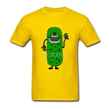 Cool Funny Pickle Tickle Monster Cartoon T Shirt Men Man's Best Deals Custom Short Sleeve 3XL Group  Tshirts
