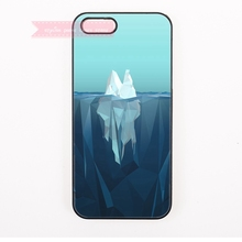 abstract art digital iceberg for SONY Xperia C3 M2 M5 T2 Ultra T3 X XA Z2 Z3 Z4 Z5 Compact Premium cases artistic(China)