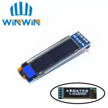 "5pcs  0.91 inch OLED module  0.91"" white OLED 128X32 OLED LCD LED Display Module 0.91"" IIC Communicate"