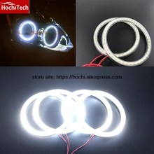 HochiTech Ultra bright SMD white LED angel eyes 12V halo ring kit daytime running light DRL for Nissan Altima Coupe 2010 - 2013(China)