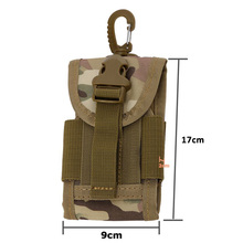 Hot Selling Mobile Phone Bag 5.5 Inch Universal Army Tactical Case Cover Bag Hook Molle Belt Cell Phone Pouches
