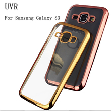 UVR For Samsung Galaxy S3 Case Luxury Phone Cases Coque S 3 Neo I9300 Back Original Soft Tpu Clear For Samsung S3 Cover