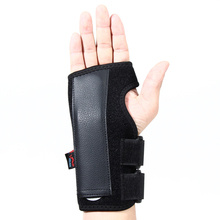 Black Wrist support Hand Carpal Splint Tunnel Wrist Brace Support Forearm Splint Band Strap Moderate Chronic Ankle Pain symptoms
