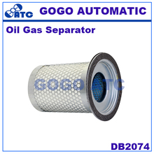 High quality Oil Gas Separator DB2074 Screw air compressor oil core air compressor