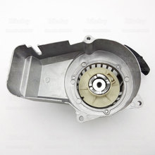 Silver Aluminum Pull Starter For 47cc 49cc 2 Stroke Engine Pocket Mini Bike ATV Quad Go Kart Dirt Motorbike Parts