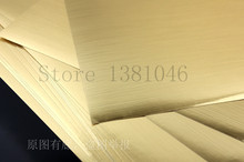 10 Sheets A4 Glossy Golden Color Self Adhesive Vinyl Film Sticker For Laser Printer 21 x 29.2cm