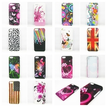 for Coque IPhone 5C Case Cover Butterfly flower meteor UK FLAG US FLAG Hard Plastic Case for IPhone 5C 5 C Phone Cases