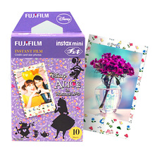 Genuine Alice Fuji Fujifilm Instax Mini 8 Photo Paper 10pcs For 8 7s 7 50s 50i 90 25 dw Share SP-1 Instant Camera Free Shipping