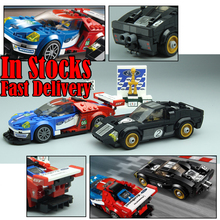 Lepin 28004 395Pcs Racer Racing Car Speed Champions Set Building Blocks Bricks Enlighten Toys for Children Christmas Gift 75881(China)
