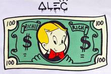 Pop artist Painting Richie Rich Graffiti money popular's & Banksy's arts poster hand painted no frame x-250(China)