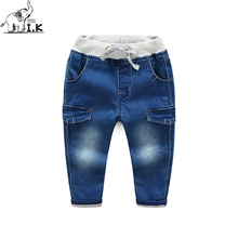 2017 new arrival toddler boys warm pants kids casual cotton pants children fashion solid trousers CK25056(China)