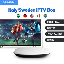 Italy Sweden IPTV Android IPTV Box Arab Turkish France 2000+ LIVE IPTV Subscription Channels IUDTV Abonement HD Wifi Set Top Box