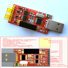Tracking number 1500V 2Mbps USB to TTL CH340 STC RS232 high-speed serial isolation module  5V / 3.3V