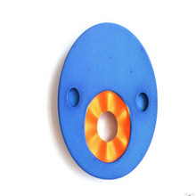 New 1PC EVA Foam Swim Discs Arm Bands Floating Sleeves Free Inflatable Floating Board Swimming Exercises Buoyancy Circles Rings(China)