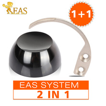 1Pc 12000GS Universal Strong Magnet Golf EAS Detacher Hard Tag Remover Black With 1Pc Tag Hook Detacher(China)