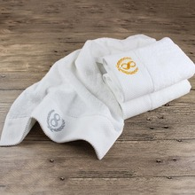 RUBIHOME 2 Pieces White 100% Cotton Face Towel Luxury Brand For Bath Hotel Adult Women Facecloth Travel 40x80cm