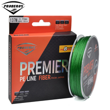 137M&150Yds 8 Stands Fishing Line PRO BEROS Brand Green/Grey/Yellow/Blue braided line available15LB-150LB 8-Weaves PE Line