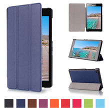 "2016 Design Discount Cover Case For Lenovo Tab2 A7-20F 7"" Fouda Stand PU Leather For Tab2 a7-20F 7"" Tablet Pc Case Cover Shell"