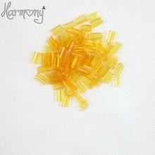 50pcs Keratin glue for hair Nail Tip Keratin U-Shaped Fusion Chips Glue Nail Tip Keratin Nail Tip for hair extension