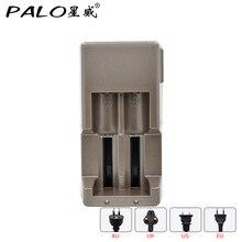 Лидер продаж 2 слота 18650 путешествия Батарея Зарядное устройство дома Зарядное устройство для 3.7 В литиевых Батарея Аккумуляторы с вилкой(China)