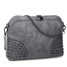 Women bag women message bag chain small bag scrub fashion messenger bag female handbag(China)