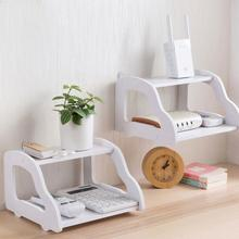 Desk Wall Mount Shelf Set-Top Box Router Storage Rack Display Holder Home Decor(China)