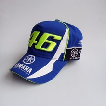 2017 New Design F1 Racing Car Motocycle Racing MOTO GP VR 46 Rossi Embroidery 100% Cotton Trucker Baseball Cap Hat