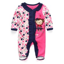 Baby Girls Rompers Clothing Newborn Boy Clothes roupa infantil(China)