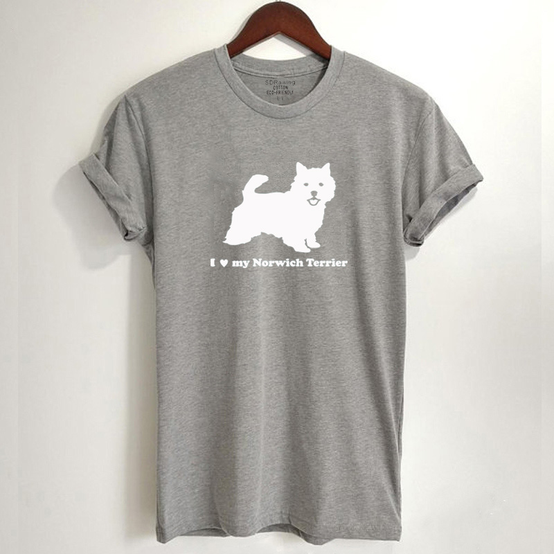 I Love Heart My Norwich Terrier T-Shirt