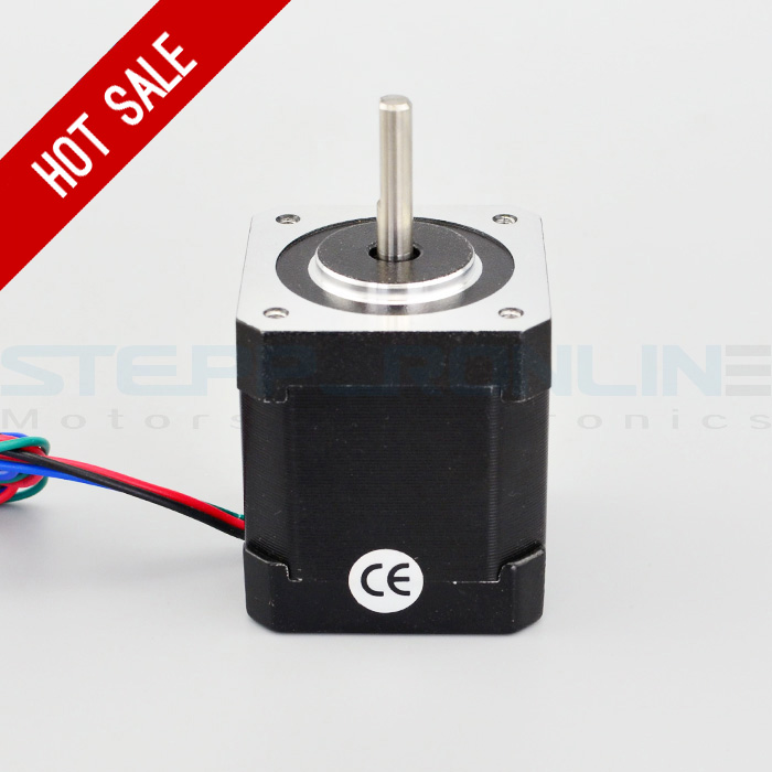 Nema 17 Stepper Motor 84oz.in/59Ncm 42x42x48mm Nema17 Bipolar 1m Cable With Connector For 3D Printer DIY CNC Robot Reprap<br><br>Aliexpress