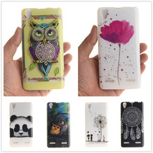 Buy Luxury Soft TPU Case Lenovo A6000 K3 Lemon K30-T Case Cover, Painting 3D Relief Back Case Cover Lenovo A6000 6000 K3 for $1.18 in AliExpress store