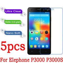 Buy Elephone P3000 P3000S Protective Film Clear Glossy Matte Nano Explosion-proof (Not Tempered Glass) P5000 Screen Protector for $4.99 in AliExpress store