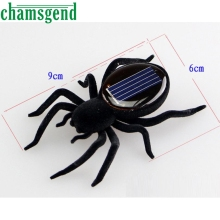 Solar spider Educational Solar Powered Spider Robot Toy Solar Powered Toy Gadget Gift solar toys for kids DB11 P30(China)