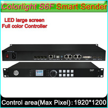 Colorlight S6F Smart Sender, Full color LED display controller large loading capacity Send card, supports DVI/HDMI signal input(China)