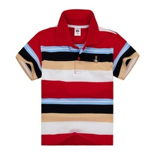 Top quality boys girls polo shirt for kids brand baby little toddler big boy clothes summer short sleeve cotton t-shirts