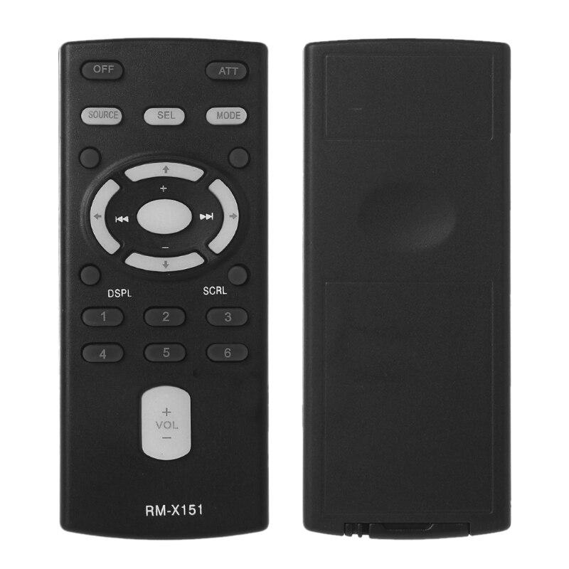 BASSK Reemplace el Control Remoto de Audio del autom/óvil//Barco RM-X151 para Sony CDX-GT300 GT520 G333