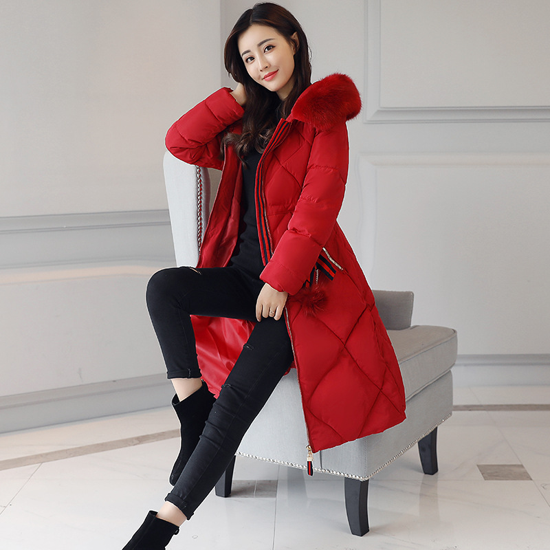 2017 New Long Parkas Female Women Winter Coat Thickening Cotton Winter Jacket Womens Outwear Parkas for Women Winter OutwearÎäåæäà è àêñåññóàðû<br><br>
