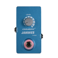 Coolmusic Electric Guitar Looper Loop Recording Effect Pedal 10min Recording Time with True Bypass Full Metal Shell(China)