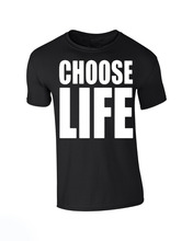 CHOOSE LIFE WHAM Replica George Michael T shirt Men 80s fancy dress casual 100% cotton gift tee USA Size S-3XL(China)